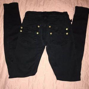 Rock & Republic Jeans - Rock & Republic Womens Skinny Jeans 0M Black